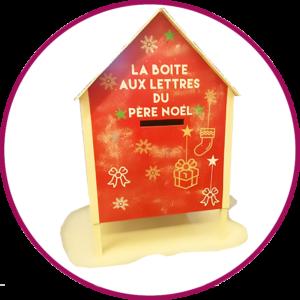 fabrication - boite - aux - lettres - Père - Noël - Marseille