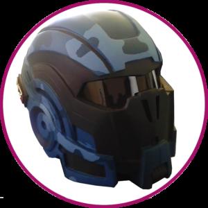 Casque - Mass - Effect - Mel - MF - Factory