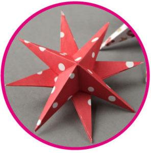 atelier - créatif - étoiles - de -noël - 3D - Aubagne