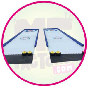 location - piste -de - curling - géante - Marseille