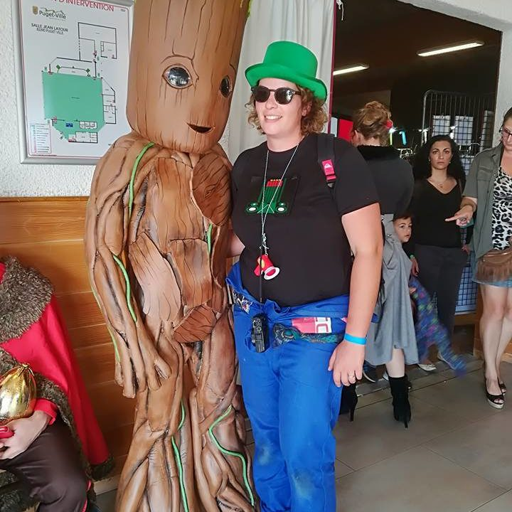 Costume - Baby - Groot - conception - MF - Factory