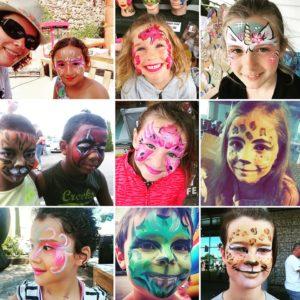 stand - maquillage - enfants - Marseille