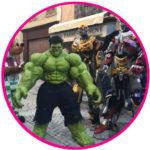 Mascotte-Hulk-super-héros-Marseille