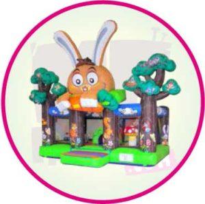 château - lapin - carotte - MF - Factory