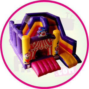 combo - clown - gonflable - Aubagne