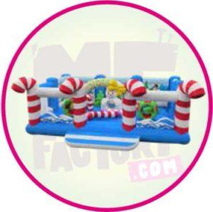 gonflable - jumping - Noël - Aubagne