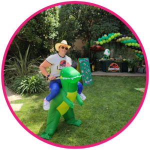 animations anniversaire dinosaure jurrasic park