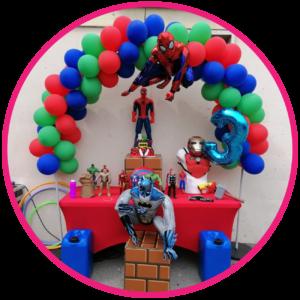 décoration anniversaire super héros marseille