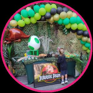 décoration anniversaire dinosaure marseille