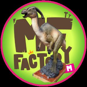 statue-dinosaure-parasaurolophus